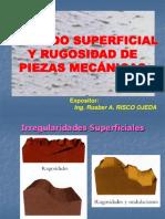 DMAC1.07.Acabado Superficial y Rugosidad de Piezas Mecánicas. 23-05-2016