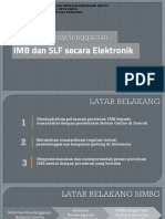 Kebijakan Penyelenggaraan IMB Dan SLF Melalui OSS