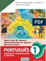 Português - Contexto, Interlocução e Sentido 1º Ano
