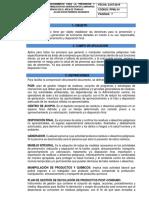 Ppml01-Procedimiento Manejo Integral de Luminarias