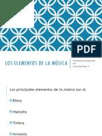 Los Elementos de La Música Parte 1