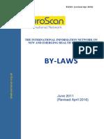 ES 331 Revised Apr 2016 by Laws June 2011