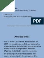 Clase Bases Curriculares de Educación Basica