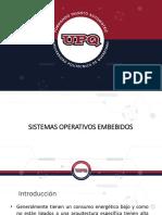 Sistemas Operativos Embebidos