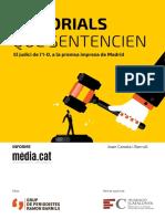 Informe Media.cat sobre les editorials del judici de l'1-O