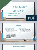 co-teaching pbl