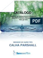 Catalogo - Calha Parshall- 2017