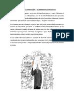 Schumpeter Innovacion tecnológica