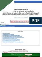 MANUAL PARA EMISSAO DE NOTIFICACAO Veterinária versao2