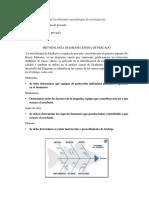 Resumen de Las Metodologias de Ivevstigacion de Accidentes Laborales