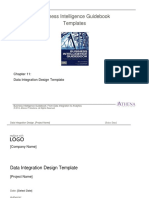 BIGuidebook Templates - BI Logical Data Model - Data Integration Design