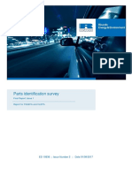 Parts Identification Survey Final Report v3.0