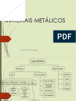 Aula Ligas Metálicas 1, Prof. Bruno Guedes