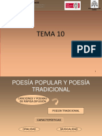 Poesia Popular y Poesia Tradicional