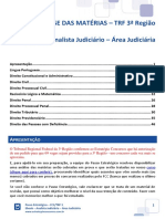 eBook FCC TRF 3 Analista Judiciário - Área Judiciária