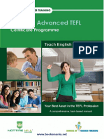 130 Hour Advanced TEFL