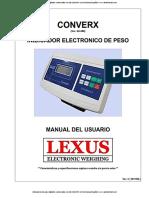 Lexus Converx manual indicador