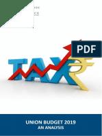 Economic Analysis of Budget