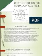 Modal Cutoff Condition for Hypocycloidal Optical Fibre(2)
