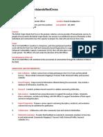 EVCA Field Officer Job Description