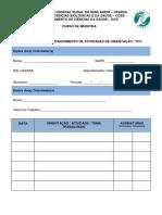 Formulário de Acompanhamento de Atividades de Orientação - Tcc (1)