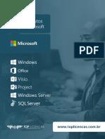 Linha de Produtos Licenças Microsoft