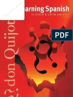 Don Quijote Spanish School Brochure 2011
