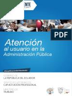 Manual Atención Al Usuario en La Administración Pública General
