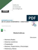 Clase 1 Matemática Informática