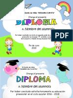 DIPLOMAS Editables