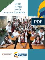 ESTANDAR DOTACION EDUCATIVA