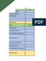 Excel Para Flujo de Caja