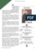 Antonio Nariño - Wikipedia, La Enciclopedia Libre