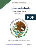 Adjectives Adverbs - Adjetivos Adverbios