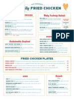 P&P - SCFC Lunch Pop-up Menu