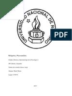 monografia religión y psicoanálisis