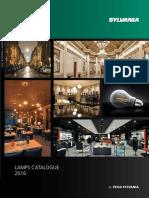 Sylvania - Lamps Catalogue 2016 - Full - English