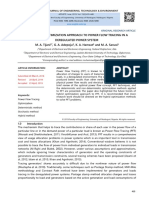 A REVIEW OF OPTIMIZATION APPROACH TO POWER FLOW TRACING IN A DEREGULATED POWER SYSTEM