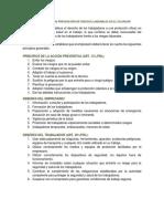 Marco Legal en Prevención de Riesgos Laborales en El Ecuador