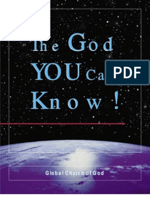R  McNair: The God You Can Know! | God The Father | Trinity