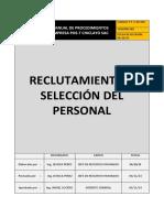 249434280 Formato Procedimiento Reclutamiento y Seleccion