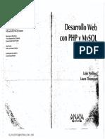 Libro - Anaya Multimedia - Desarrollo Web Con Php Y Mysql - Luke Welling & Laura Thomson - 3Ed El Holistico