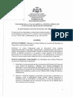 Acuerdo 020 de 2018