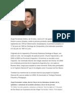 biografia Angel Fernadez Artimes