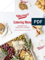 Murrays Cheese Catering Menu 2019