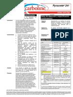 Pyrocrete 241 PDS 7-12 ES-LA (Fireproofing)