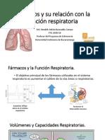Fármacos y Su Relación Con La Función Respiratoria (1)