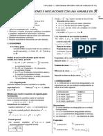 Algebra Unidad - 03 Sm