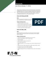 Eaton 93e Production Firmware History