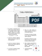 QUIZ  TABLA PERIÓDICA 10